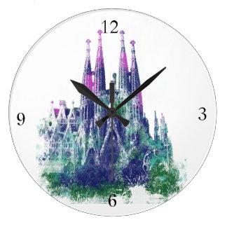 Sagrada Familia Barcelona Wall Clock
