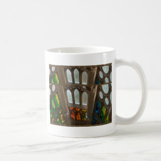Sagrada familia Church Wall Windows Holy Spiritual Classic White Coffee Mug