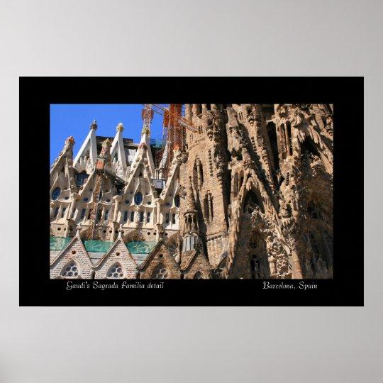 Sagrada Familia detail Poster