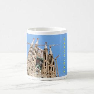 Sagrada Familia in Barcelona, Spain Coffee Mug