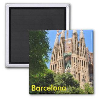 Sagrada Familia in Barcelona, Spain Magnet