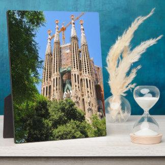 Sagrada Familia in Barcelona, Spain Plaque