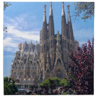 Sagrada Família Napkin
