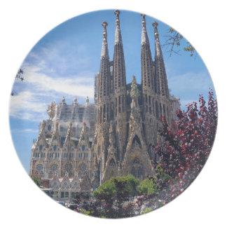 Sagrada Família Plate