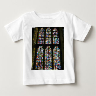 Sagrada Familia Stained Glass Barcelona Photograph Baby T-Shirt