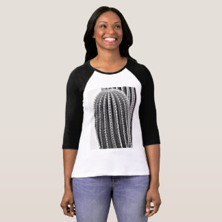 Saguaro Arm in B&W Women's Raglan Tee Shirt