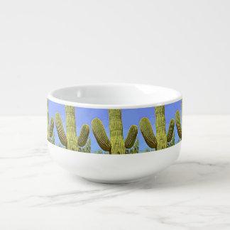 Saguaro Arm in Cartoon Soup Bowl Soup Mug