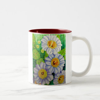 Saguaro Blossoms Two-Tone Coffee Mug