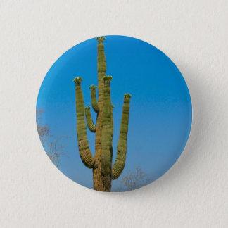 Saguaro Cactus 2 Inch Round Button