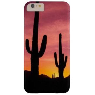 Saguaro cactus at sunrise, Arizona Barely There iPhone 6 Plus Case