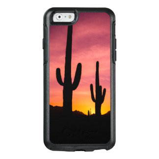 Saguaro cactus at sunrise, Arizona OtterBox iPhone 6/6s Case