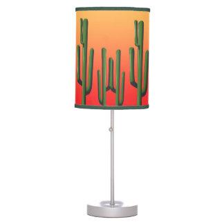 Saguaro Cactus Desert Sunset Lamp