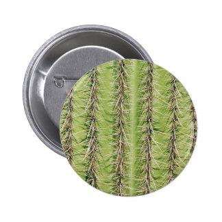 Saguaro cactus needles print pinback button