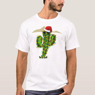 Saguaro Christmas Lights T-Shirt