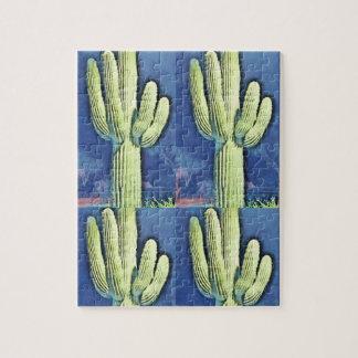 Saguaro in Cartoon Puzzle