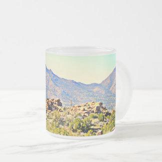 Saguaro Lake Frosted Mug