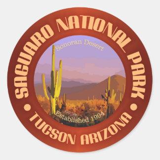 Saguaro National Park (C) Classic Round Sticker