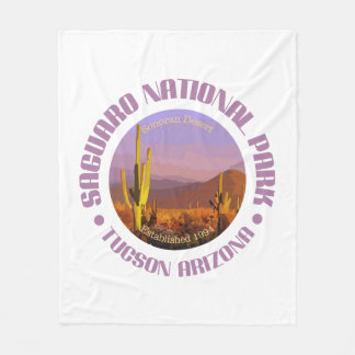 Saguaro National Park (C) Fleece Blanket