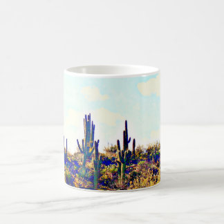 Saguaro on Hill Coffee Mug/Cup Coffee Mug