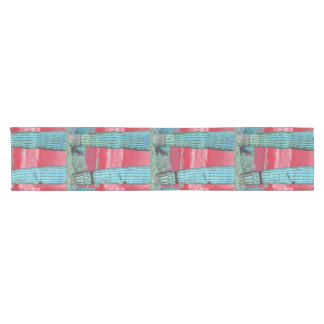 Saguaro Pillar in Red Sky & Turquoise Table Runner