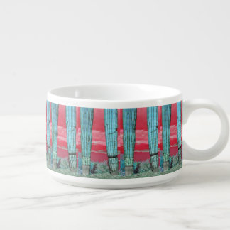 Saguaro Pillars Red & Turquoise Chili Mug/Bowl Bowl