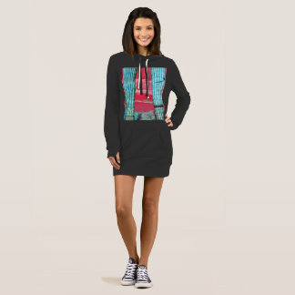 Saguaro Pillars Women's Hoodie Dress