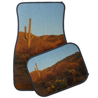 Saguaro Sunset I Arizona Desert Landscape Car Mat