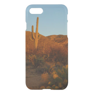 Saguaro Sunset I Arizona Desert Landscape iPhone 8/7 Case