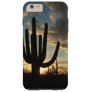 Saguaro Sunset II Arizona Desert Landscape Tough iPhone 6 Plus Case