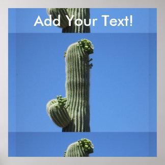Saguaro Top Poster