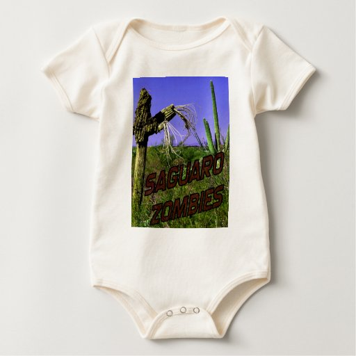 Saguaro Zombies Zombie 2 Baby Bodysuits