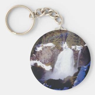 """""""Sahalie Falls"""" Keychain"""