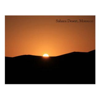Sahara Desert, Morocco Postcard