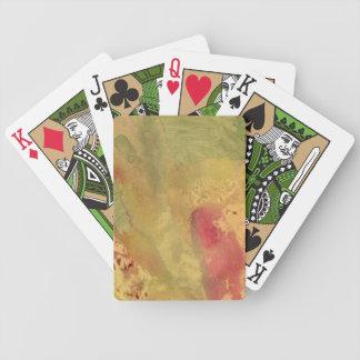 Sahara Gold Poker Deck