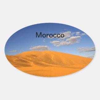 Saharan desert in Morocco Sticker