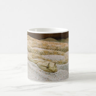 Saharan Horned Desert Viper Cerastes cerastes Coffee Mug