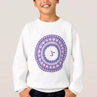 Sahasrara chakra mandala sweatshirt