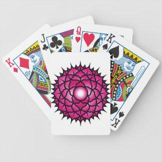 Sahasrara_Mandala Bicycle Playing Cards