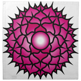 Sahasrara_Mandala Napkin