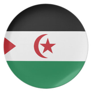 Sahrawi Arab Democratic Republic Dinner Plate