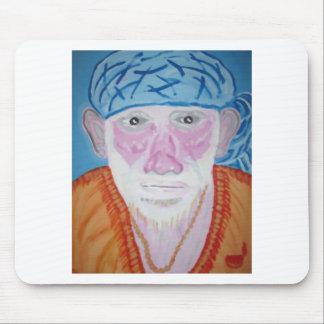 SAI BABA of Sirdi Monk Master Guru Yogi Blessing Mouse Pad