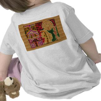 SAI BABA of Sirdi n Reiki Healing Symbols on back T-shirts