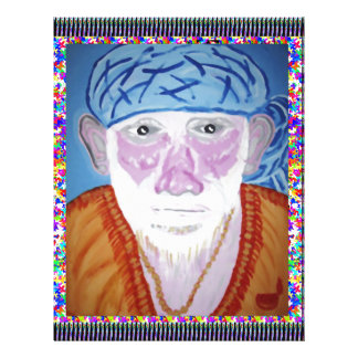SAI BABA SIRDI Saint Guru Teacher Preacher Prayer Customized Letterhead