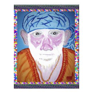 SAI BABA SIRDI Saint Guru Teacher Preacher Prayer Customized Letterhead