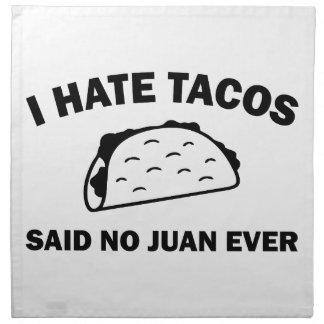 Said No Juan Ever Napkin