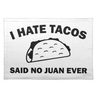 Said No Juan Ever Placemat