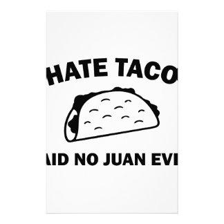 Said No Juan Ever Stationery