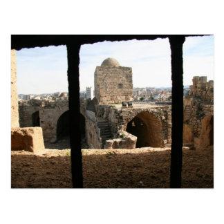 Saida Sea Castle 2 Postcard