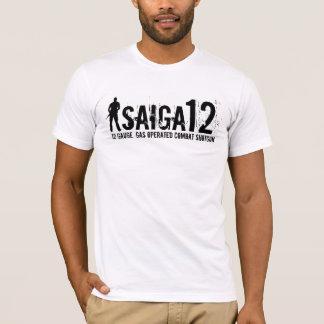 Saiga 12 - 12 Gauge, Gas Operated Combat Shotgun T-Shirt