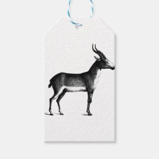 Saiga Antelope Gift Tags